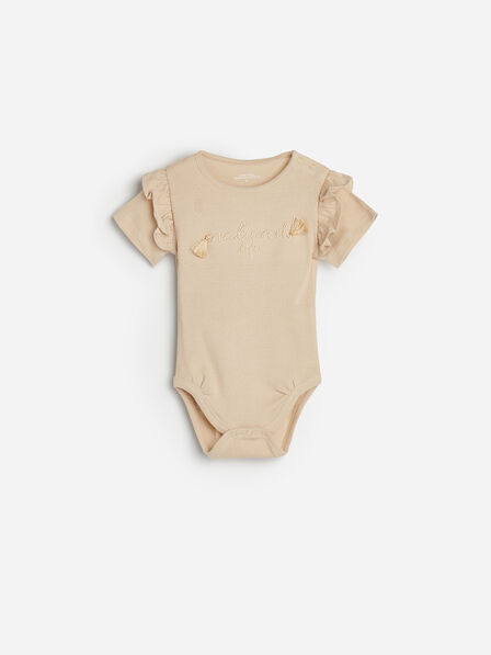 Reserved - Sand Body Suit, Kids Girl
