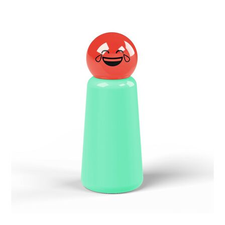 LUND LONDON - Lund London Skittle Bottle Mini Turquoise And Coral Laugh 300ML