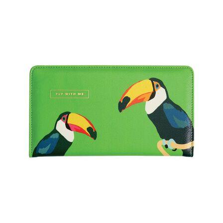 EMILY BROOKS - Emily Brooks Travel Wallet Birds