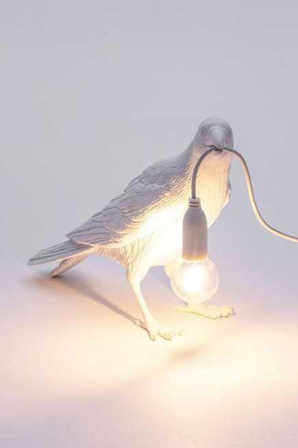 Seletti - Bird Lamp Waiting White