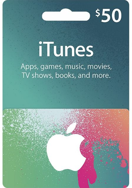 APPLE - Apple iTunes Gift Card 50 USD