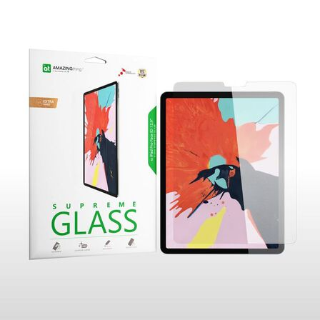 AMAZING THING - Amazing Thing 0.33 mm Supremeglass Crystal Screen Protector for iPad Pro 12.9-Inch 2018