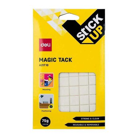 DELI - Deli Magic Tack Mounting Putty 75g (2 x 2 cm Squares)