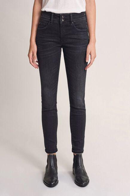 Salsa Jeans - Black Push In Secret skinny dark jeans