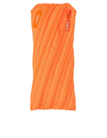 ZIPIT USA - Zipit Neon Twister Pencil Case Crazy Orange