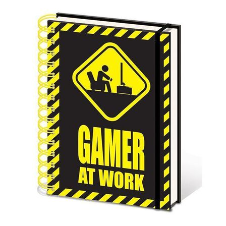 PYRAMID POSTERS - Gamer At Work