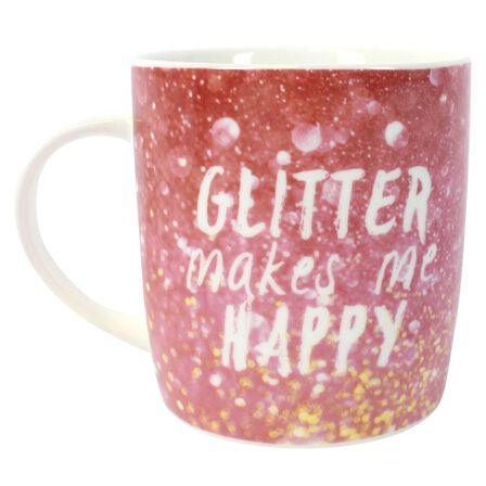 SOMETHING DIFFERENT - Something Different Glitter Mug