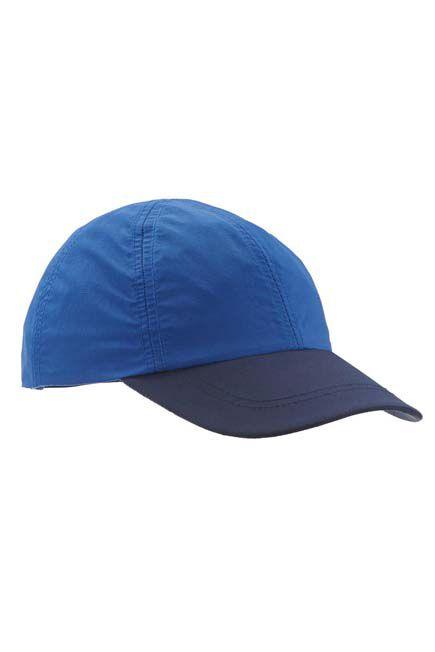 QUECHUA - MH100 Kids' Hiking Cap- Blue, Unique Size