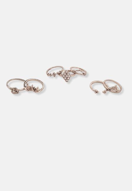 Missguided - Boho Ring Pack