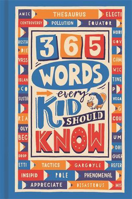 BUSTER BOOKS UK - 365 Words Every Kid Should Know