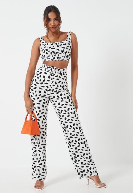 Missguided - DALMATION PRINT BELTE