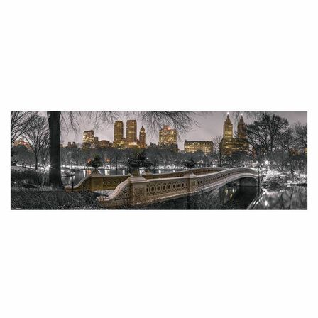 PYRAMID POSTERS - New York - Bow Bridge Central Park Poster 30.5 x 91.5cm