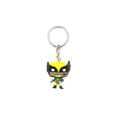 FUNKO TOYS - Funko Pop Keychain Marvel Zombies Wolverine