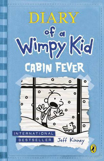 PUFFIN UK - Cabin Fever (Diary of a Wimpy Kid book 6)