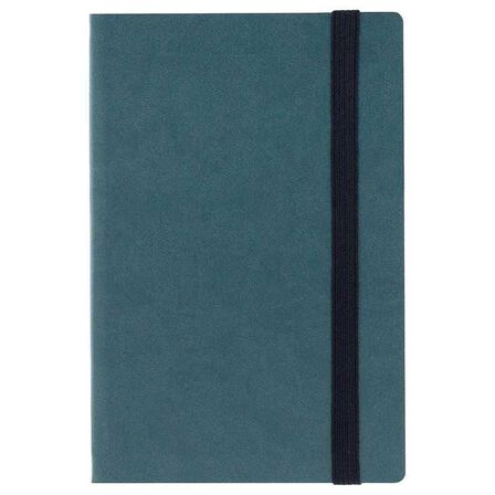 LEGAMI - Legami Medium Weekly Diary With Notebook 18 Month 2018/2019 Petrol Blue