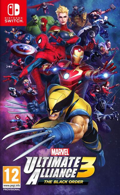 NINTENDO - Marvel Ultimate Alliance 3 - The Black Order - Nintendo Switch