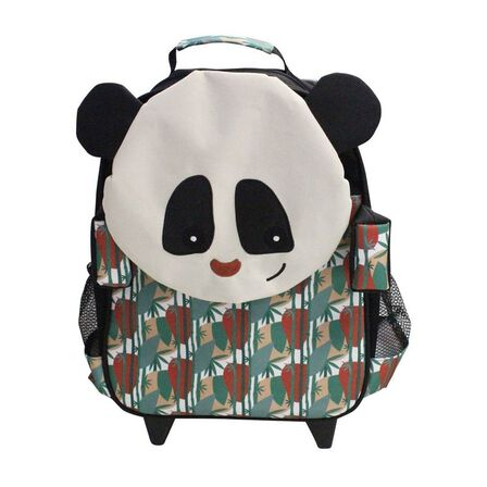 LES DEGLINGOS - Rototos the Panda Medium Trolley Backpack