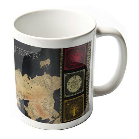 GAME OF THRONES - Games of Thrones Map Mug