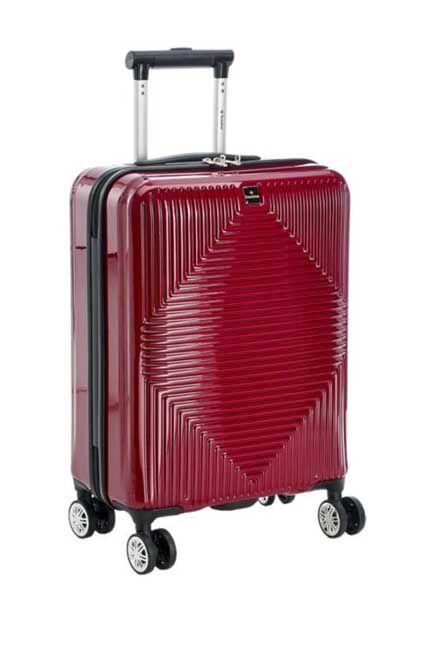 saxoline - Claret Red Travel Suitcase, Unisex