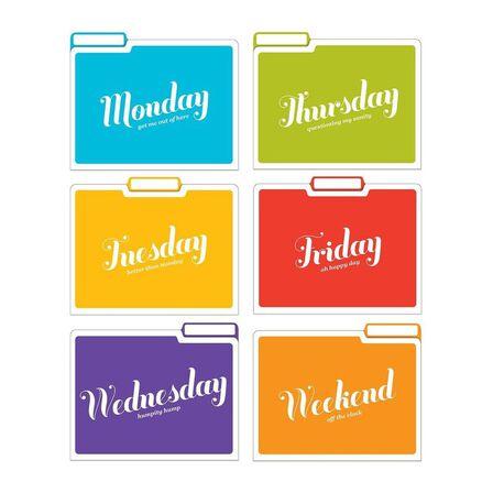 KNOCK KNOCK - Days Of The Week Folder