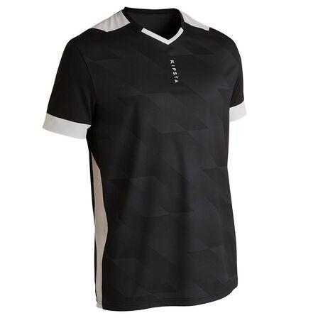 KIPSTA - 2XL  F500 Adult Football Shirt, Black