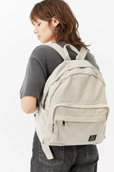 Urban Outfitters - Ivory UO Core Corduroy Backpack, Women