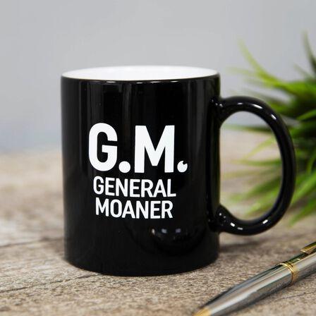 HARVEY MAKIN - Harvey Makin Gm General Moaner Mug
