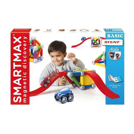 SMART MAX - Smartmax Play Vehicles Stunt Cars Magnetic Building Set [46 Pcs]