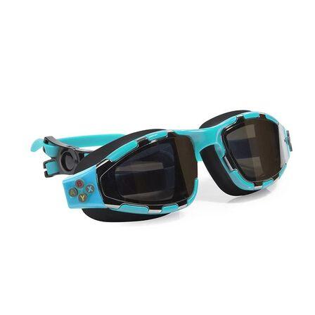 BLING2O - Bling2o Swimming Goggles Gaming Controller Swim Mario Light Blue