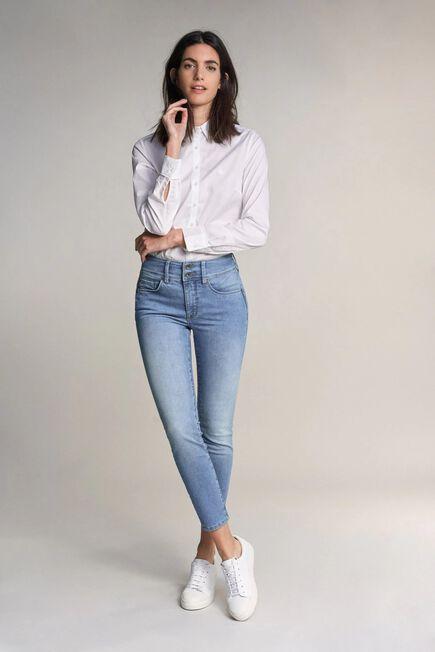 Salsa Jeans - Blue Secret push in jeans in light rinse
