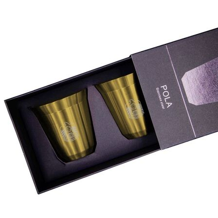 ROVATTI - Rovatti Pola Uae Stainless Steel Cup Gold 175ml