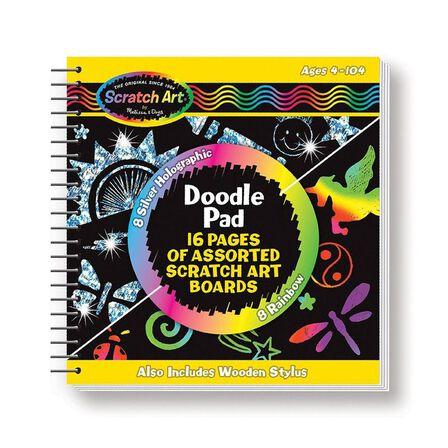 MELISSA & DOUG - Melissa & Doug Scratch Art Doodle Pad