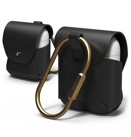 ELAGO DESIGN - Elago Cow Leather Case Black for AirPods