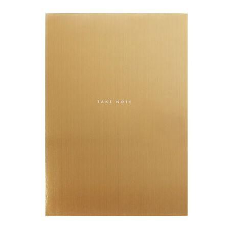 KIKKI.K - kikki.K B5 Feature Notepad Luxury Gold