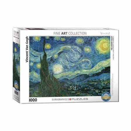 EUROGRAPHICS - Eurographics Starry Night By Vincent Van Gogh 1000PCs Adult/Unisex Puzzle