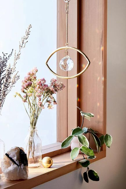 Urban Outfitters - Assorted Prismatic Eye Wall Hanging
