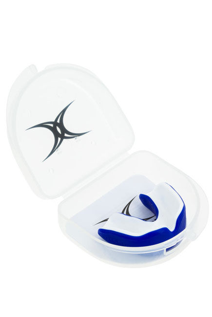GILBERT - Virtuo Junior Rugby Mouthguard - Blue, Unique Size