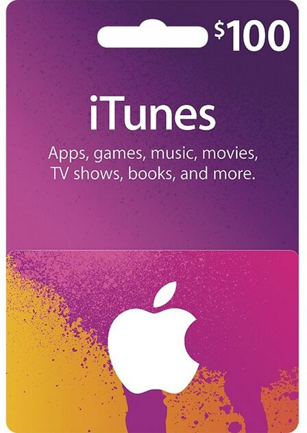 APPLE - Apple iTunes Gift Card 100 USD