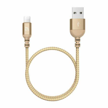 ADAM ELEMENTS - Adam Elements Peak Iii 120B USB-A To Lightning 120Cm Gold