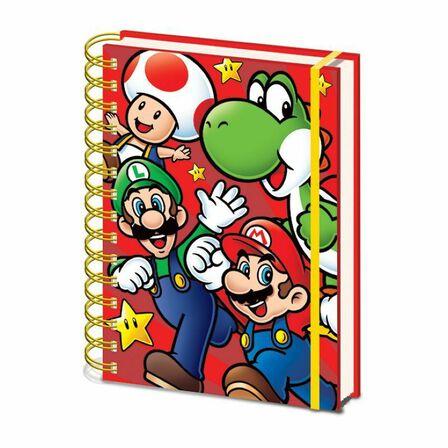 PYRAMID POSTERS - Super Mario Run A5 Notebook
