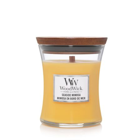 WOOD WICK - Woodwick Candle Hourglass Seaside Mimosa [Medium]