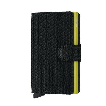 SECRID - Secrid Miniwallet Leather Wallet Diamond Black