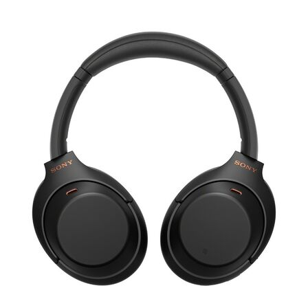 SONY - Sony WH-1000XM4 Black On-Ear Bluetooth Headphones with Noise Cancellation