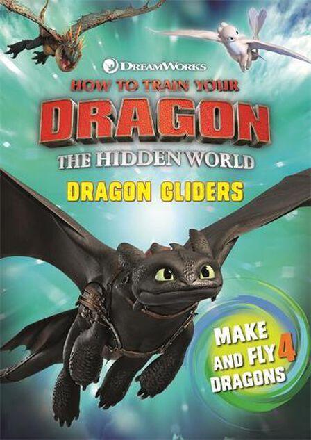 HODDER CHILDRENS BOOKS UK - How To Train Your Dragon The Hidden World Dragon Gliders