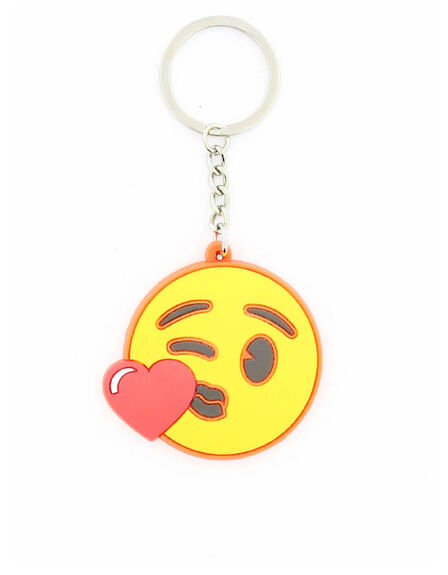 EMOJI - Emoji Heart Kiss Face Keychain