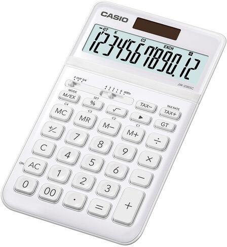 CASIO - Casio JW-200SC Calculator Desktop Basic White