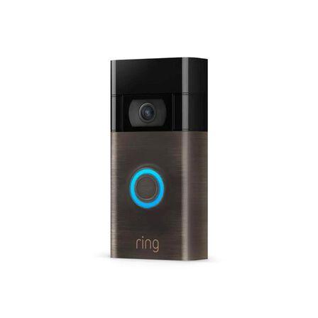 Ring - Ring Video Doorbell [2nd Gen] Satin Nickel