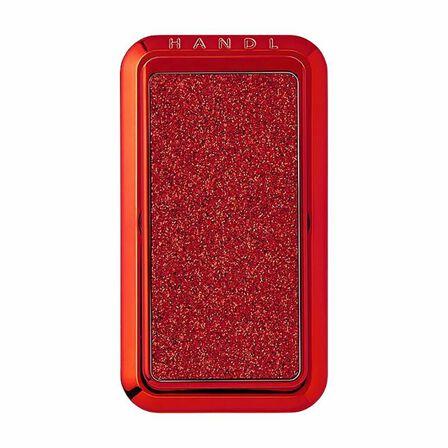 HANDL NEW YORK - Handl New York Smoothe Glitter Grip & Stand Red for Smartphones