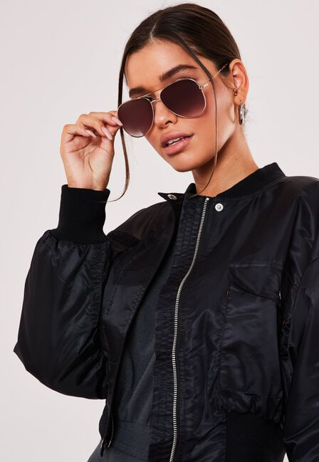 Missguided - CORE PILOT AVIATOR SU