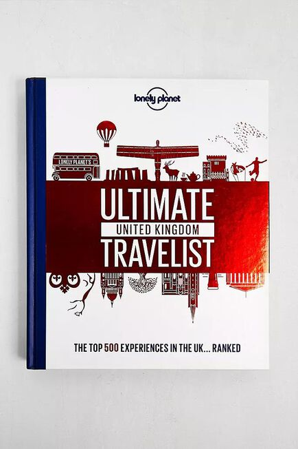Urban Outfitters - Assorted Ultimate United Kingdom Travelist By Lonely Planet